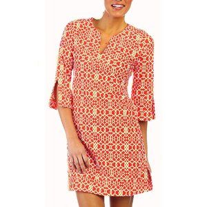 JUDE CONNALLY Megan Tunic Dress Lattice Print